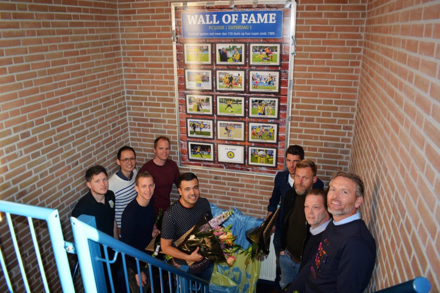 Lisse heeft Wall of Fame.